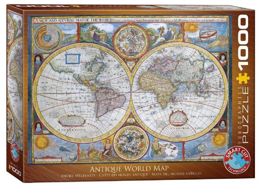 Пазл Eurographics Антична карта світу 1000 елементів