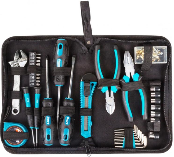 Набор ручного инструмента Bort BTK 37 предметов
