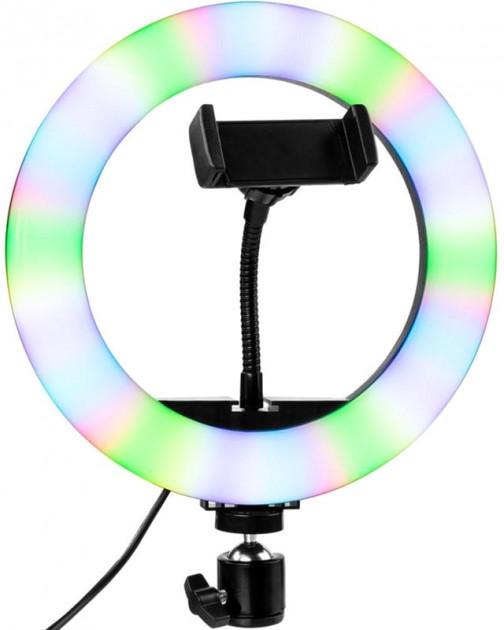 Кільцева LED лампа Gelius Pro Halo RGB Ring 26 см