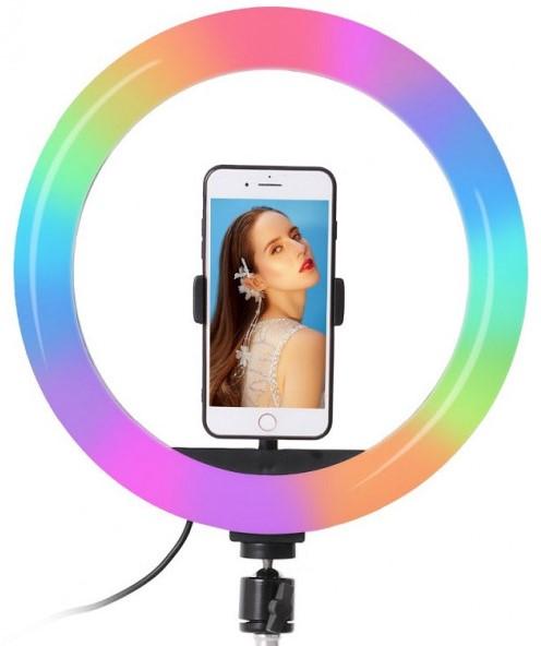 Кільцева світлодіодна лампа Ningbo RGB USB