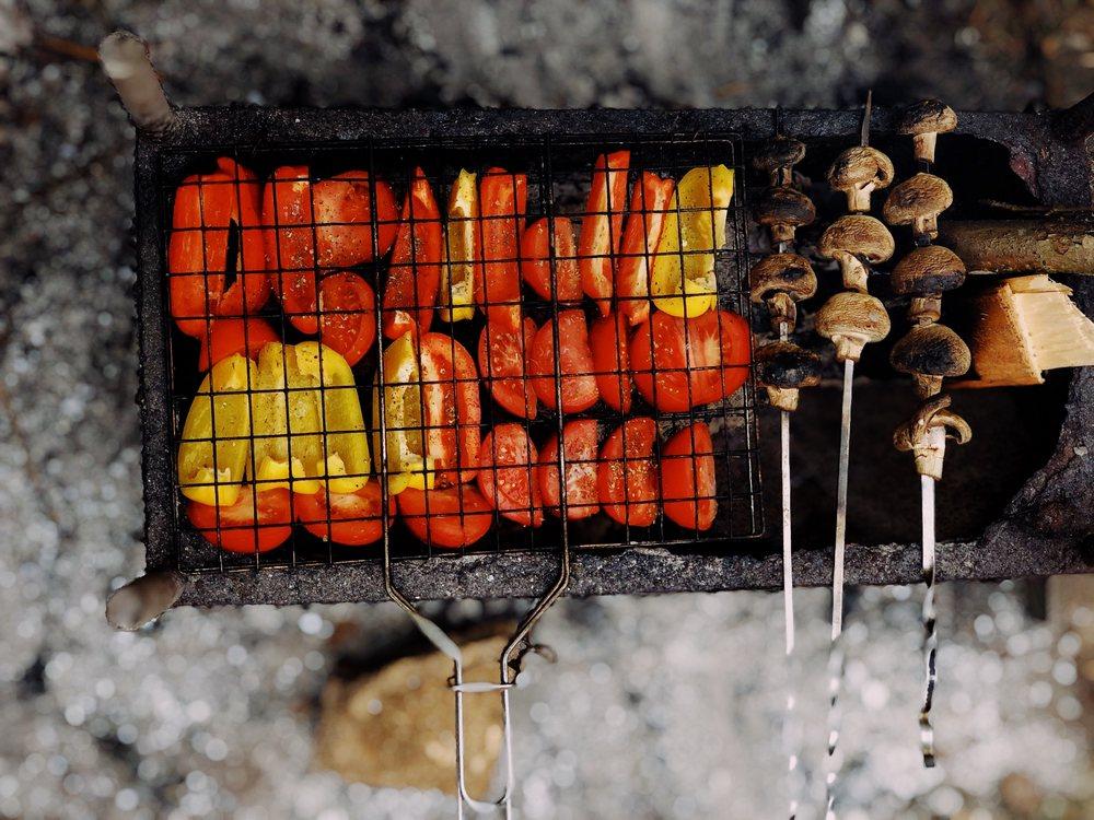 Як приготувати овочі на грилі