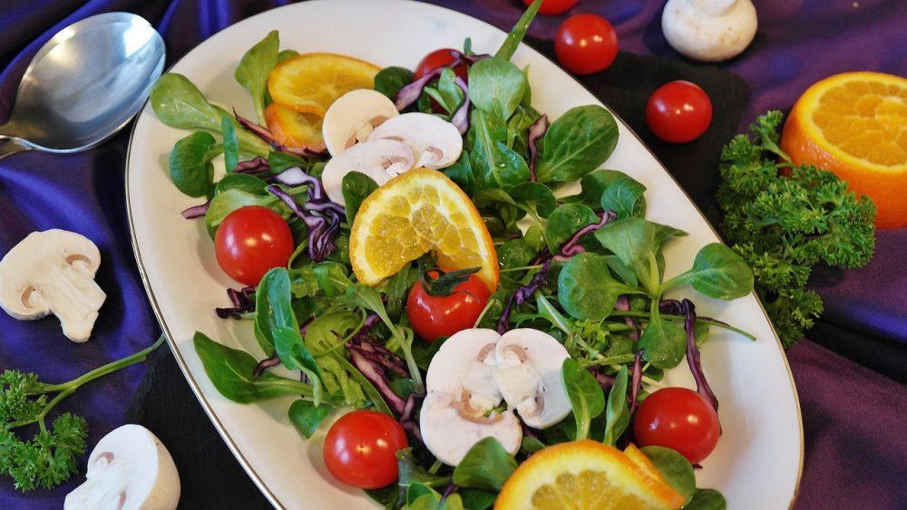 Святковий салат з овочів