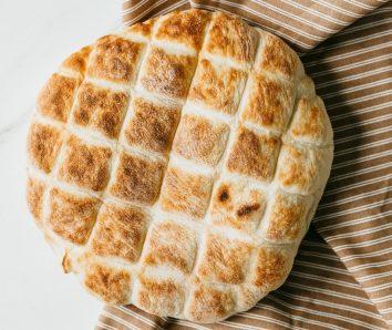 Осетинський пиріг із сиром і зеленню