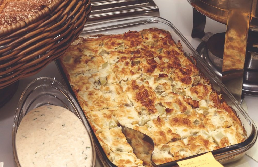 Пирог из лаваша с творогом и зеленью