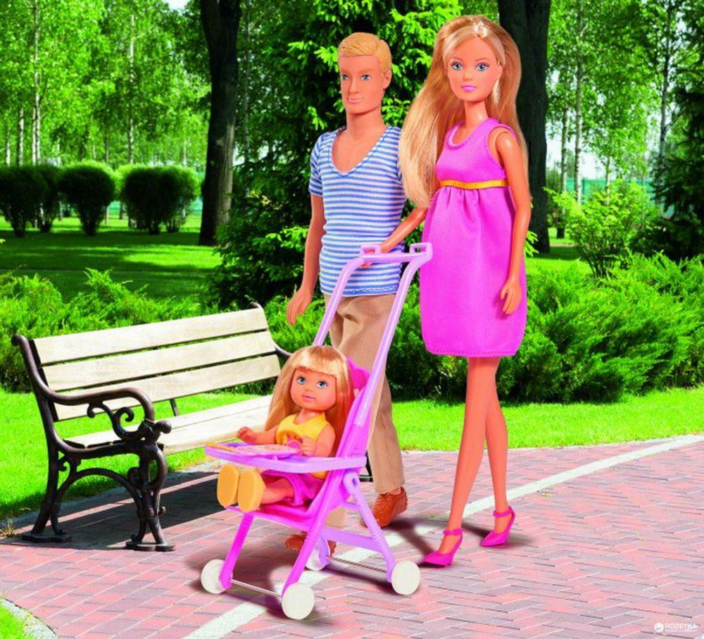 Ляльковий набір Simba Steffi Love Щаслива сім'я Штеффі