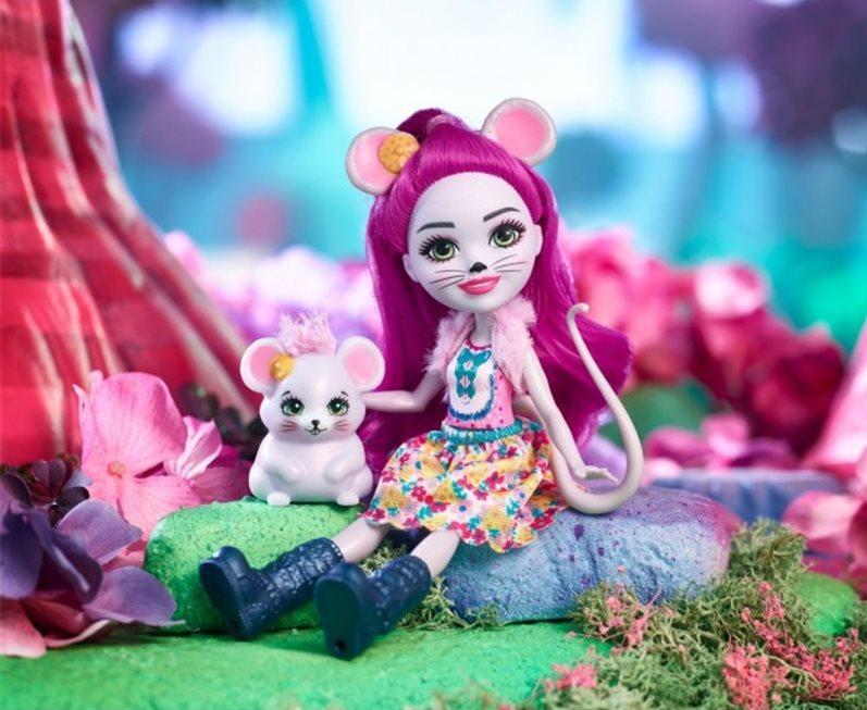 Лялька Enchantimals Мишка Майла