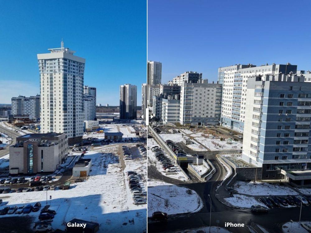 Городская панорама днём