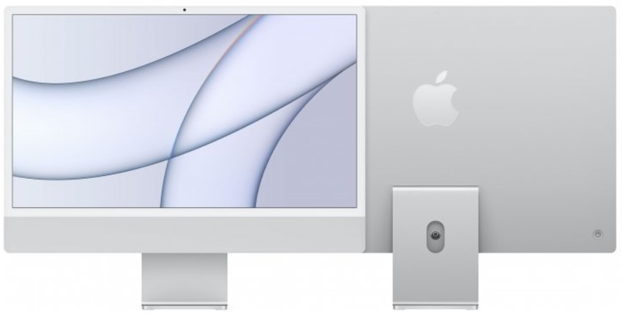 "Моноблок Apple iMac 24"" М1 4.5К 8‑ядер GPU 512GB Silver"