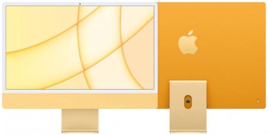"""Моноблок Apple iMac 24"""" М1 4.5К 8‑ядер GPU 256GB Yellow"""