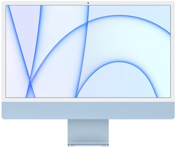 """Моноблок Apple iMac 24"""" М1 4.5К 7‑ядер GPU 256GB Blue"""
