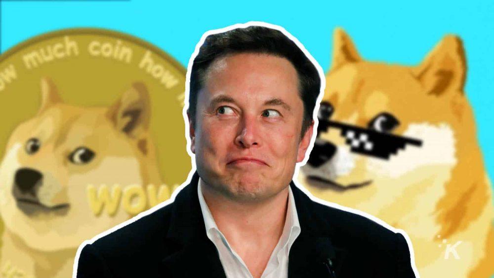 Ілон Маск і Dogecoin