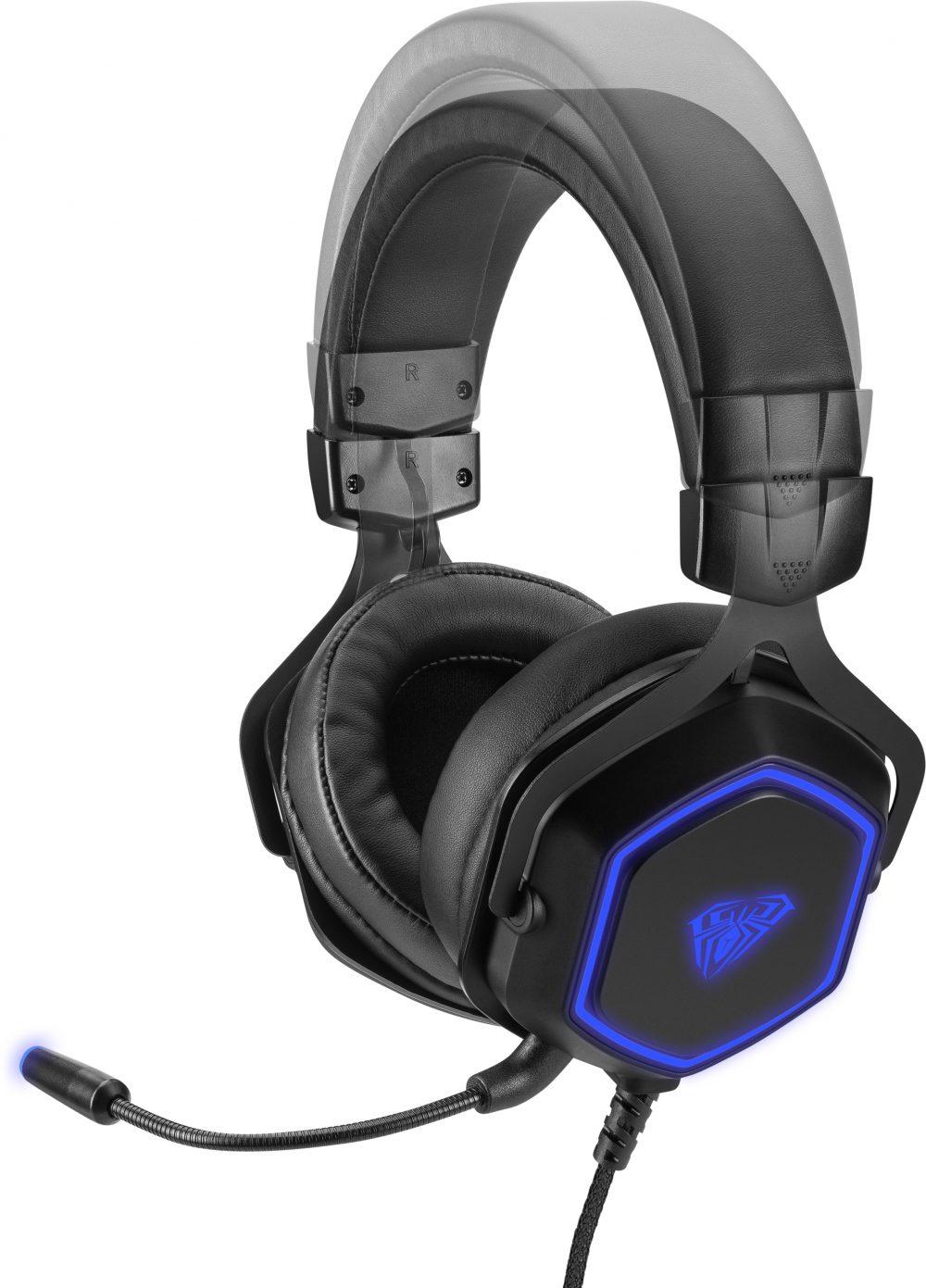 Ігрові навушники Aula Hex 7.1