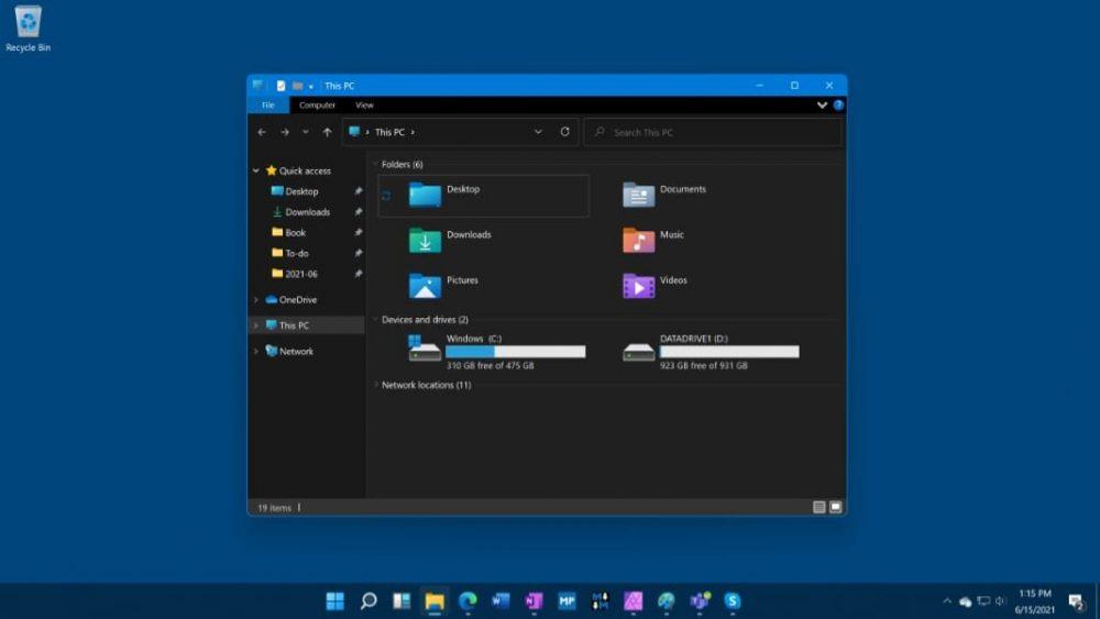 Мій комп'ютер Windows 11