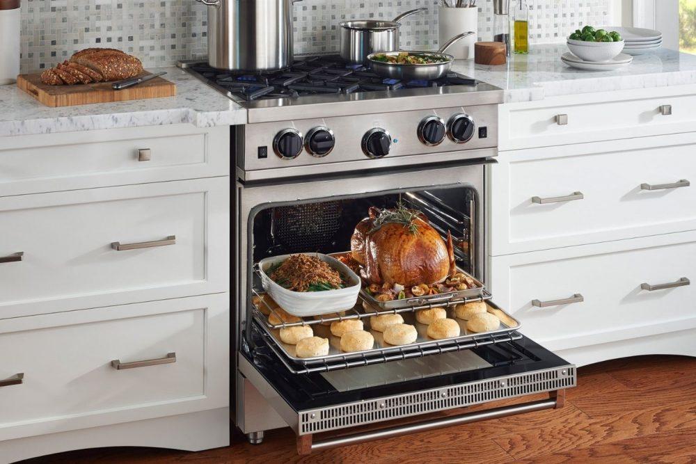 Як вибрати газову плиту з хорошою духовкою