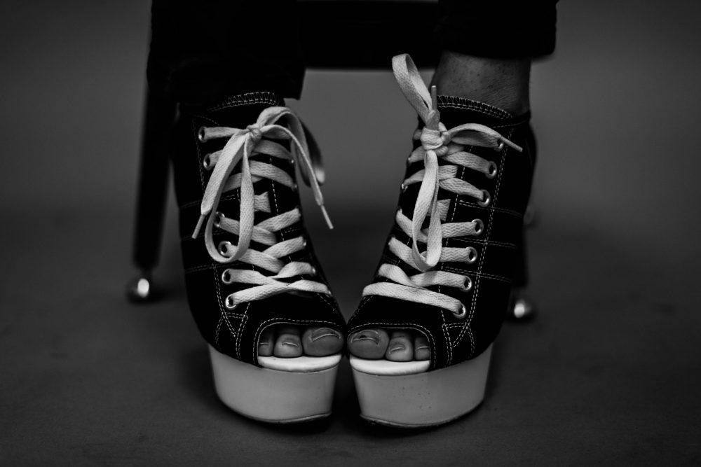 Незвичайний спосіб шнурівки