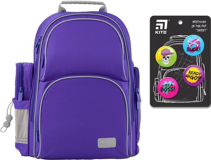 Рюкзак полукаркасный школьный Kite Education Smart