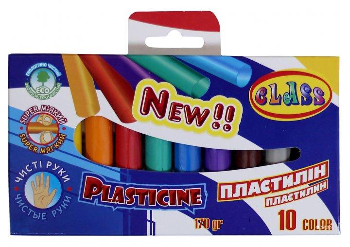 Пластилін Class Чисті руки ECO 24 кольору